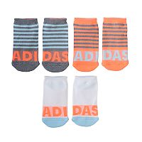 Girls 4-16 adidas 3-pk. climalite No-Show Socks