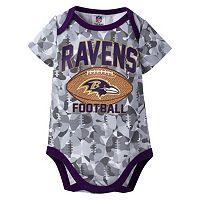 Baby Baltimore Ravens Camouflage Bodysuit
