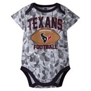 Baby Houston Texans Camouflage Bodysuit