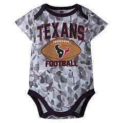 Baby Houston Texans Camouflage Bodysuit