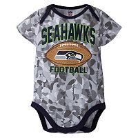 Baby Seattle Seahawks Camouflage Bodysuit