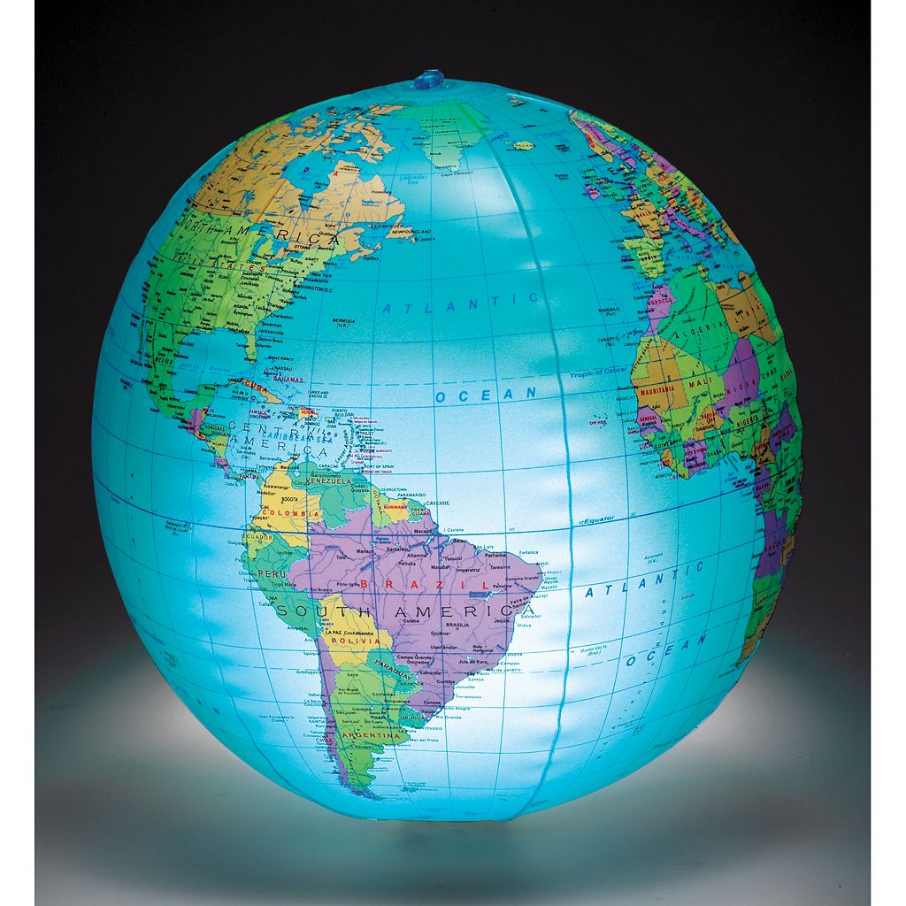 Learning Resources Inflatable Light-Up Globe