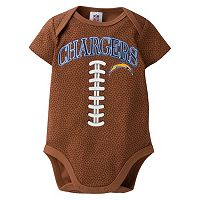 Baby San Diego Chargers Footballl Bodysuit