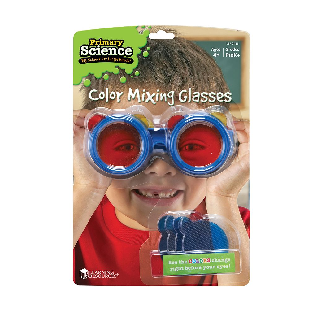 Learning Resources Primary Science Color Mixing Glasses