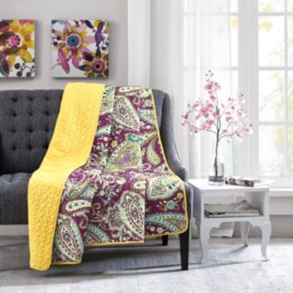 Intelligent Design Kayla Oversized Quilted Throw