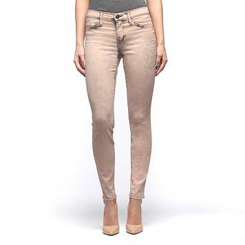 Women's Rock & Republic® Kashmiere Pink Acid Wash Denim Leggings
