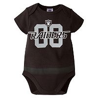 Baby Oakland Raiders Team Bodysuit