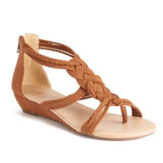 Apt. 9® Women's Woven Wedge Sandals