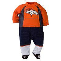 Baby Denver Broncos Team Uniform Footed Sleep & Play