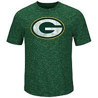 Men's Majestic Green Bay Packers Hyper Logo Tee