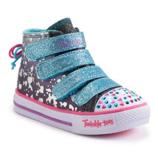 Skechers Twinkle Toes Shuffles Skip N Jump Toddler Girls' Light-Up Shoes