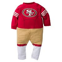 Baby San Francisco 49ers Team Uniform Footed Sleep & Play