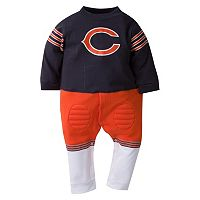 Baby Chicago Bears Team Uniform Coverall