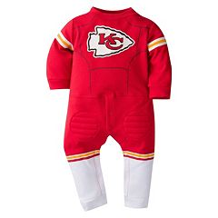 Baby Kansas City Chiefs Team Uniform Coverall