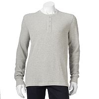 Men's SONOMA Goods for Life™ Classic-Fit Slubbed Thermal Henley