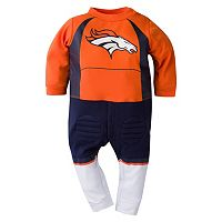 Baby Denver Broncos Team Uniform Coverall