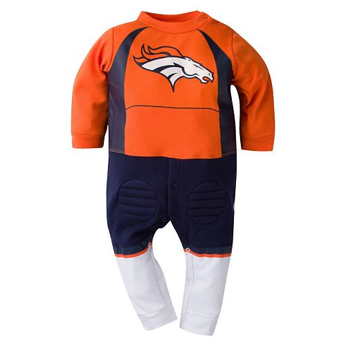 Baby Denver Broncos Team Uniform Coverall