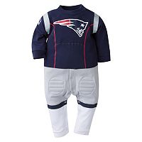 Baby New England Patriots Team Uniform Coverall
