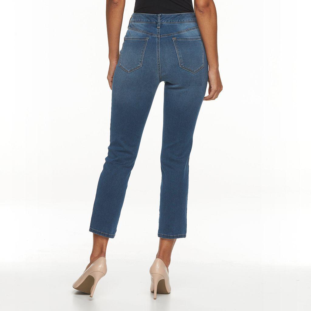 Women's Gloria Vanderbilt Bridget Straight-Leg Ankle Jeans