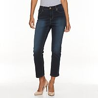 Women's Gloria Vanderbilt Bridget Straight-Leg Ankle Jeans