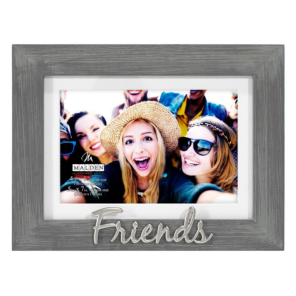 friends 4 x 6 distressed frame