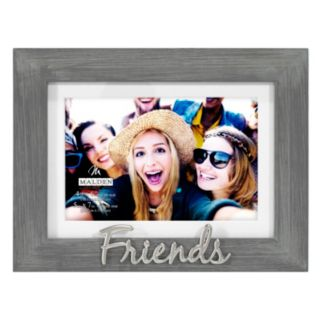 """Friends"" 4"" x 6"" Distressed Frame"