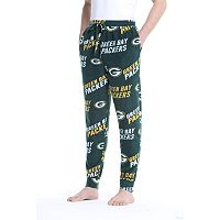 Men's College Concepts Green Bay Packers Wildcard Tapered Pants