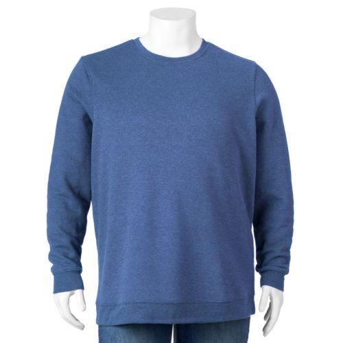 Big & Tall Croft & Barrow® Fleece Crewneck Sweatshirt