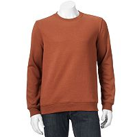 Big & Tall Croft & Barrow® Fleece Crewneck Sweatshirt
