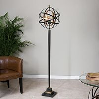 Rondure Metal Sphere Floor Lamp