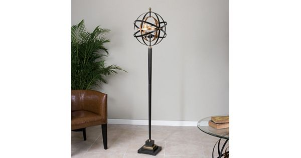 Lamp Plus Stores: Rondure Metal Sphere Floor Lamp