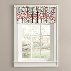Colordrift Tempest Printed Room Darkening Window Valance