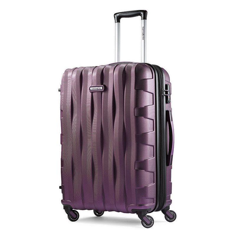 Samsonite Ziplite 3.0 Hardside Spinner Luggage, Purple, 24 INCH