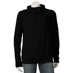 Mens Black Hoodies & Sweatshirts Tops, Clothing | Kohl's