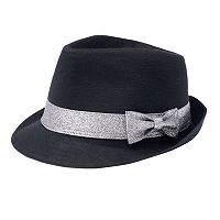 Girls 4-16 Capelli Jersey Fedora Hat