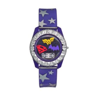 DC Comics' Supergirl, Wonder Woman & Batgirl Kids' Digital Watch