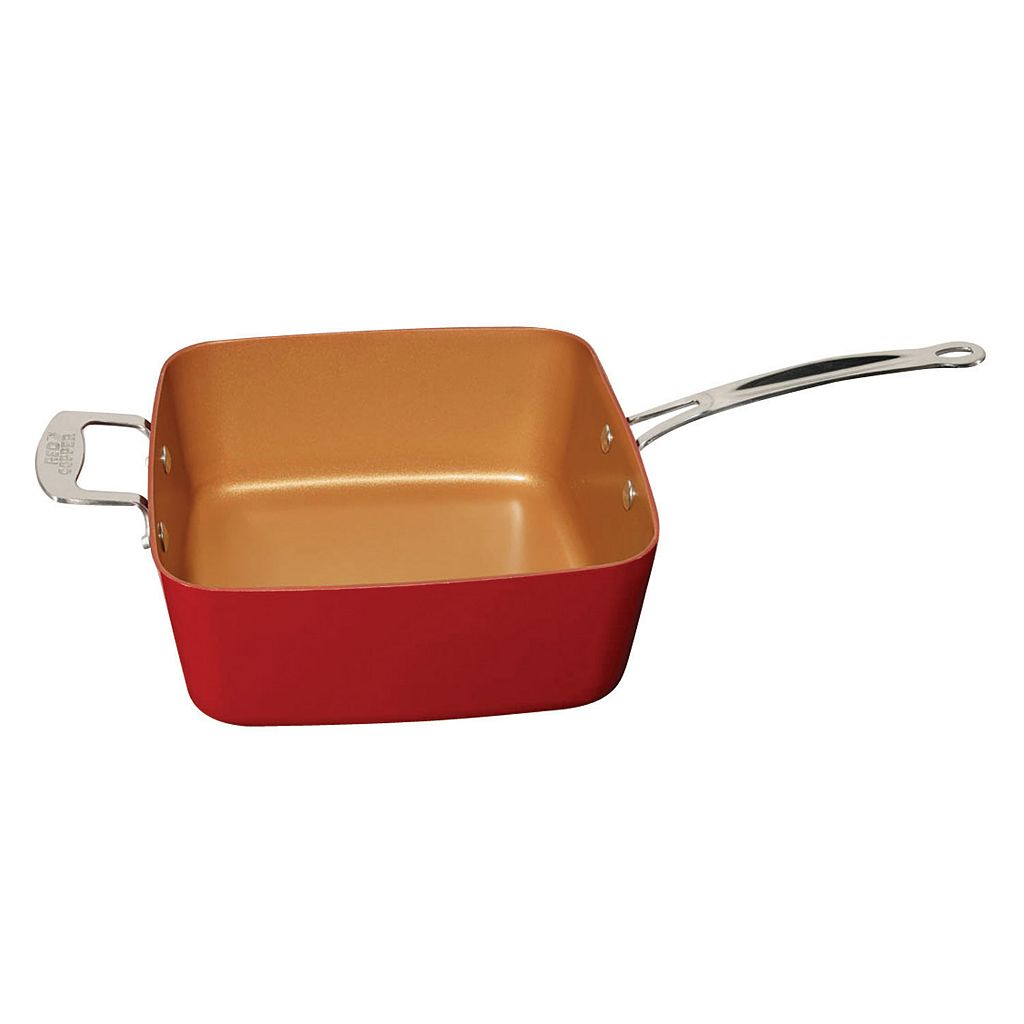 As Seen on TV Red Copper 5-pc. Cookware Set