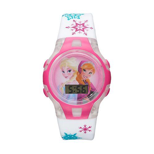 Disney's Frozen Elsa & Anna Kids' Digital Light-Up Watch pantip