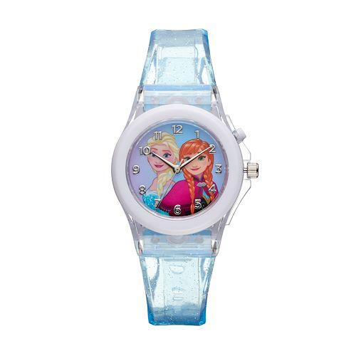 Disney's Frozen Elsa & Anna Kids' Light-Up Watch