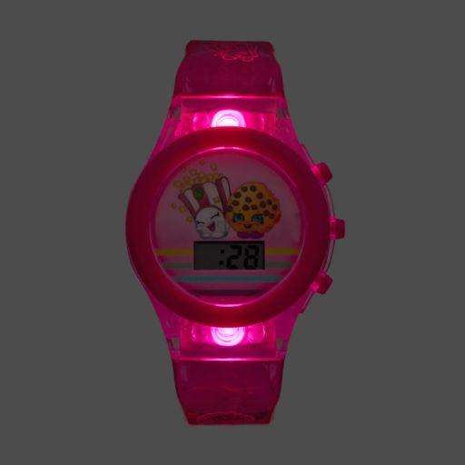 Shopkins Kids' Digital Light-Up Watch