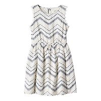 Girls 4-7 SONOMA Goods for Life™ Zig Zag Dress