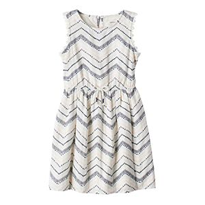 Girls 4-7 SONOMA Goods for Life™ Zig Zag Dress