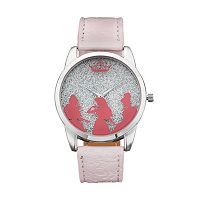 Disney Princess Kids' Glitter Silhouette Watch