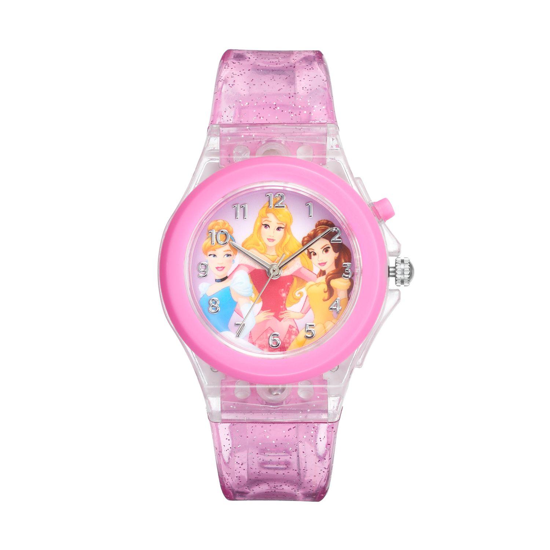 Disney Princess Aurora, Belle \ Cinderella Kids' Light-Up Watch