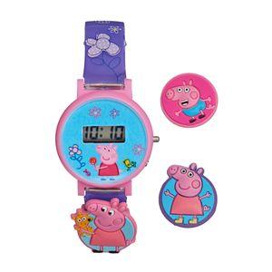 Peppa Pig Kids' Digital Charm Watch
