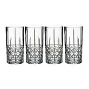 Marquis by Waterford Brady 4 pc Highball Glass Set