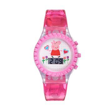 Peppa Pig Kids' Digital Light-Up Watch