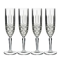 Marquis by Waterford Brady 4 pc Champagne Flute Set