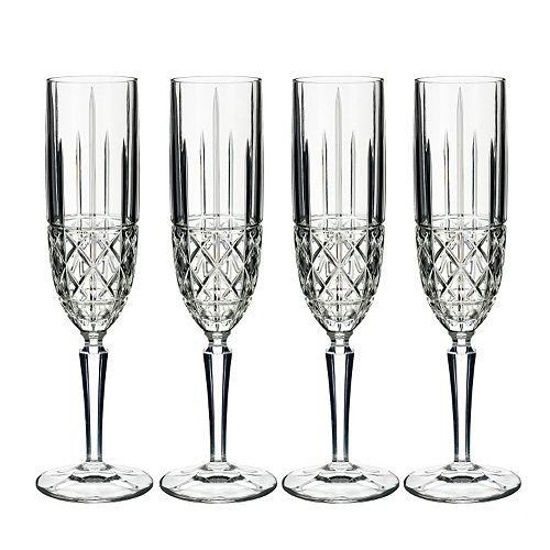 Marquis by Waterford Brady 4-pc. Champagne Flute Set