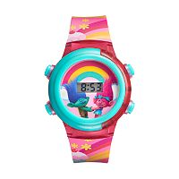 DreamWorks Trolls Kids' Digital Light-Up Watch